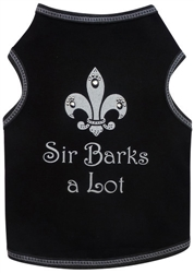 Sir Barks A Lot - Tank - Black