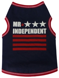 Mr. Independent - Tank - Navy