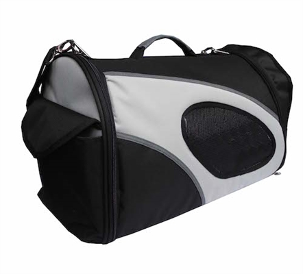 Black Airline Approved Collapsible Pet Carrier