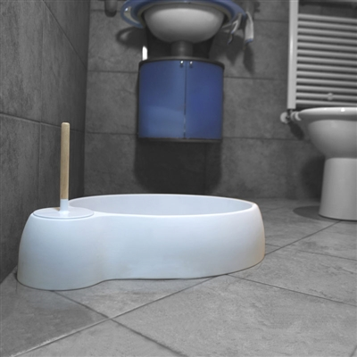 Cat Litter Box With Scooper by DFBeautifool PET