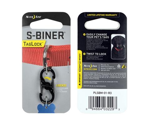 S-Biner® TagLock™ - Black