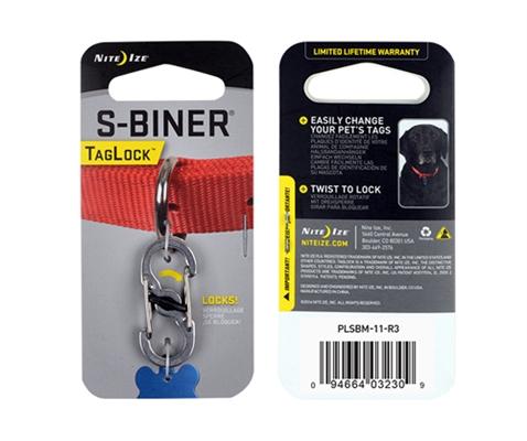 S-Biner® TagLock™ - Stainless