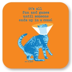 Fun and Games Cat Coaster