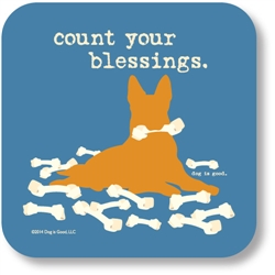 Count Blessings Coaster