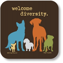 Welcome Diversity Coaster