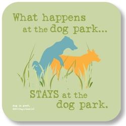 Dog Park Coaster