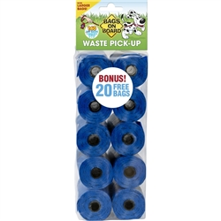 Bags on Board MASTER CASE Pet Waste Bags, 10 Rolls (140 bags)