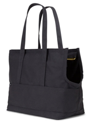 Canvas Pet Tote Dark Grey