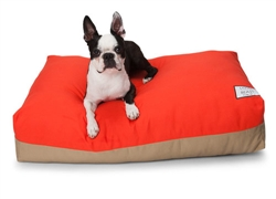 Flip Stitch Bed Orange & Khaki