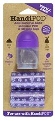 HandiPOD Bags & Hand Sanitiser Refill - Purple