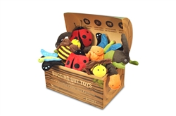 Bugging Out Plush Toy Set (15 toys with FREE POP display box)