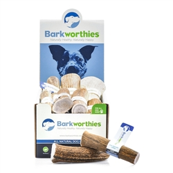 Barkworthies - Elk Antler - Large (Mini Case)