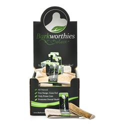 Barkworthies - Elk Antler - Select Small Split (Mini Case)