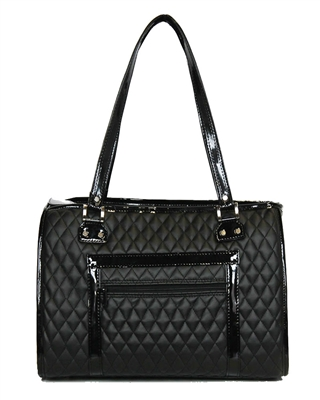 The Payton - Black Quilted
