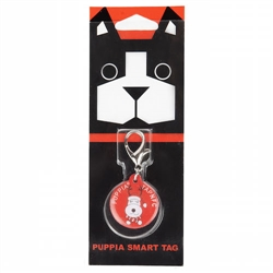 Rudolph Smart Tag - Red by Puppia®