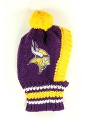 NFL Knit Pet Hat - Vikings