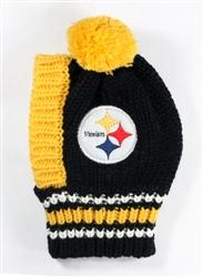 NFL Knit Pet Hat - Steelers