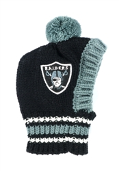 NFL Knit Pet Hat - Raiders