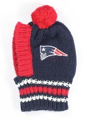 NFL Knit Pet Hat - Patriots