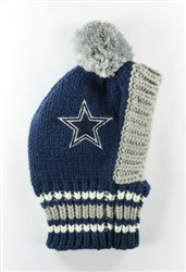 NFL Knit Pet Hat - Cowboys