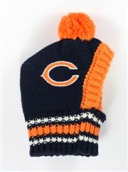 NFL Knit Pet Hat - Bears