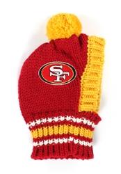 NFL Knit Pet Hat - 49ers