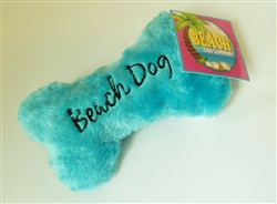 Beach Dog Bone - Blue - Small