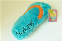 Beach Dog Flip Flop - Large - Blue