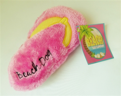 Beach Dog Flip Flop - Large  - Pink