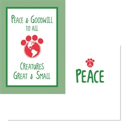 Holiday - Peace and Goodwill to all… (6 pack)