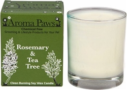 Rosemary Tea Tree 8 oz. in Glass w/ Gift Box