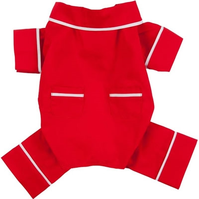 Red Poplin Pajamas