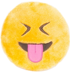 Zippy Paws - Squeakie Emoji,Tongue Out