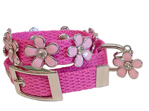 Lucy Pink Collars and Leads by Huxley & Kent