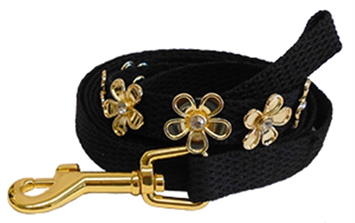 Lucy Black Collars and Leads by Huxley & Kent