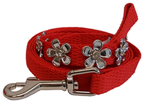 Huxley & Kent Lucy Red Collars and Leads