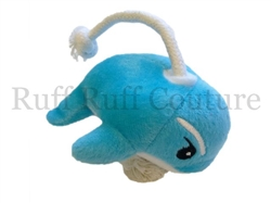 Whilly the Whale Dolphin Rope Toy by Ruff Ruff Couture®