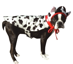 Halloween 2 pc Cow Costume / Medium