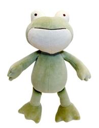 """Eddie 10"""" Green Frog"""