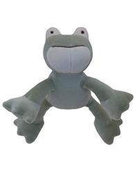 """Eddie 6"""" Petite Green Frog"""
