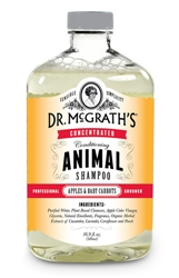 Dr. McGrath's Concentrated APPLE CARROT SCENT Conditioning Shampoo