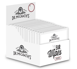 Dr. McGrath's Ear Wipes with Apple Cider Vinegar 20 ct/box.