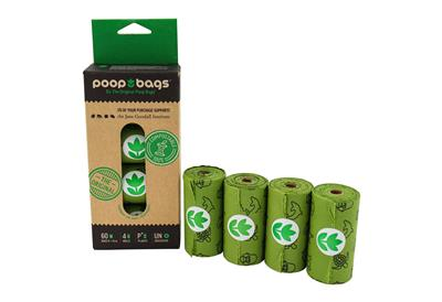 You Buy; We Donate® Jane Goodall Institute Compostable 4 Roll (18 pieces)