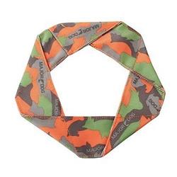 Major Dog Flying Felix - Camo Green/Orange  7 in