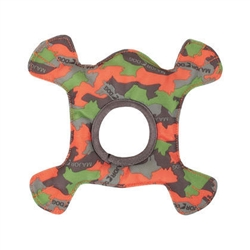 Major Dog Frog - Camo Green/Orange  8 in