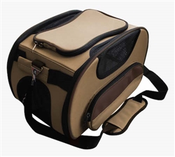 Light Brown Airline Approved Sky-Max Pet Carrier