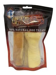 """Dried Beef Head Skin 6"""" 4 Pack - Steer Jerky"""