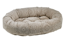 Donut Bed Chantilly Microvelvet