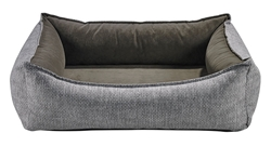 Oslo Ortho Bed Allumina Microlinen (Dusk)