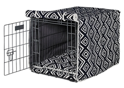 Luxury Crate Cover Azure Microvelvet
